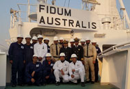 New Take Over Vessel MV. Fidum Australis Delivery Ceremony