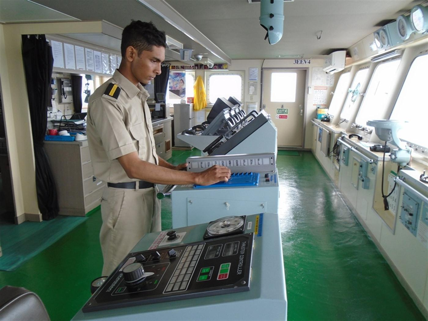 IMA Cadets Serving Onboard