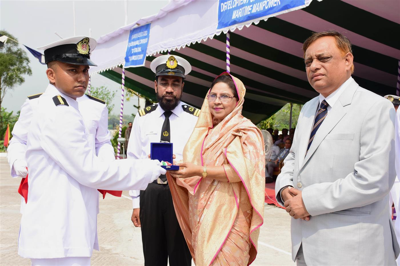 Passing out ceremony of 8th Batch Pre-sea Cadets of IMA