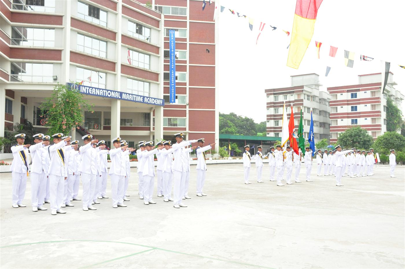 Passing out ceremony of 7th Batch Pre-sea Cadets of IMA