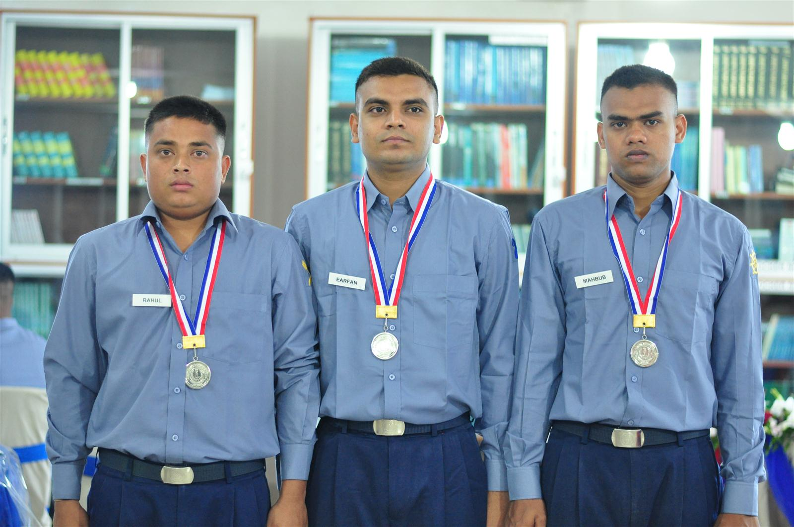 Passing out ceremony of IMA 4th Batch Ratings
