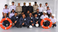 Three IMA Cadets Onboard on New Take Over Vessel MV. Amaryllis Delivery Ceremony
